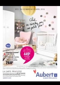 Prospectus Aubert PARIS 16 Avenue de la Porte des Lilas : Chut, ne réveillez pas nos petits prix !