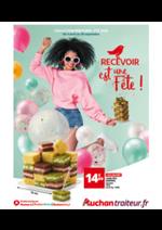 Promos et remises Auchan : Recevoir est une fête !