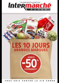 Prospectus Intermarché Super : Les 10 jours grandes marques