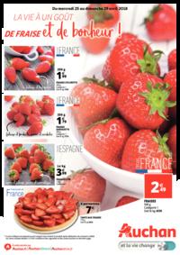 Prospectus Auchan ISSY LES MOULINEAUX : La vie a un goût de fraise et de bonheur !