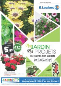 Prospectus E.Leclerc RUEIL MALMAISON : Mon jardin Mes projets