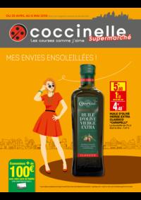 Prospectus Coccinelle Supermarché Paris 16 : Mes envies ensoleillés !