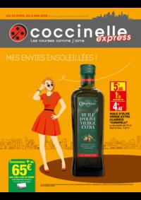 Prospectus Coccinelle Express ERMONT : Mes envies ensoleillés !