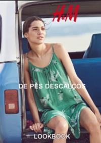 Catálogos e Coleções H&M Almada Forum : Lookbook mulher De pés descalços