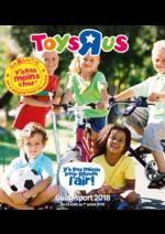 Guides et conseils Toys R Us : Le guide sport 2018