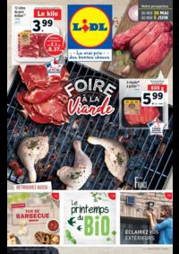 Prospectus Lidl : Foire à la viande