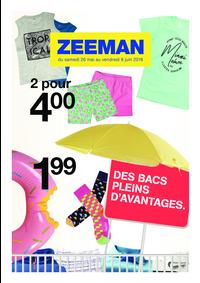 Prospectus Zeeman Asnières-Sur-Seine : Des bacs pleins d'avantages