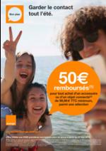 Prospectus Orange : Garder le contact tout l'été