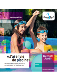 Catalogues et collections Hydrosud Avon : Catalogue 2018