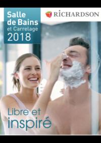 Catalogues et collections Richardson FRESNES : Salle de bains et carrelage 2018