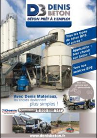 Guides et conseils Denis Matériaux Rennes : Denis Beton