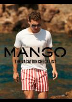 Prospectus MANGO : Vacation checklist