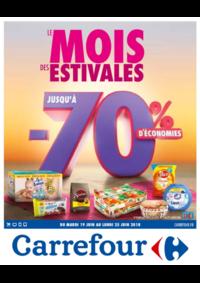 Prospectus Carrefour : Le mois des estivales
