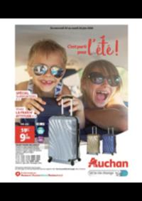 Prospectus Auchan : C'est parti pour l'été!