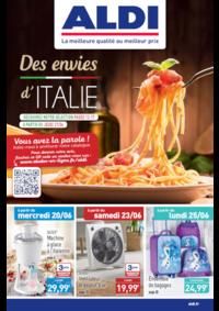 Prospectus Aldi Draveil : Des envies d'Italie