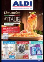 Prospectus Aldi : Des envies d'Italie