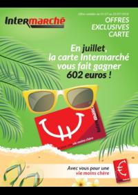 Bons Plans Intermarché Bois-de-Villers : En juillet, la carte Intermarché vous fait gagner 602 euros