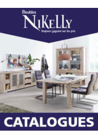 Prospectus Meubles Nikelly : Découvrez les catalogues