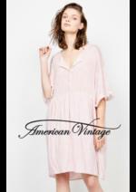Catalogues et collections American Vintage : Robe & Combinaisons