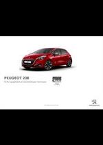 Prospectus Peugeot : Peugeot 208