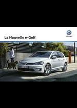 Promos et remises  : Volkswagen e-Golf