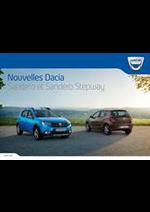 Prospectus Dacia : Dacia Sandero