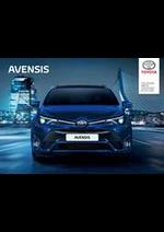 Prospectus Toyota : Toyota Avensis