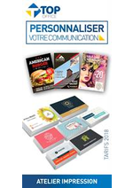 Prospectus Top office : Personnaliser votre Communication