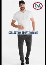 Prospectus C&A : Collection Sport - Homme