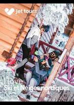 Prospectus Thomas Cook : I love Ski et Neiges