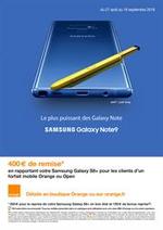 Prospectus Orange : Le plus puissant des Galaxy Note