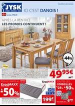 Prospectus Jysk : Les Promos continuent!