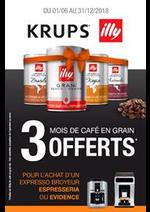 Prospectus BeDigital : Mois de café en grain 3 offerts