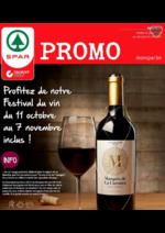 Prospectus  : Profitez du festival du vin