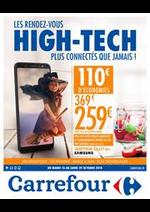 Prospectus Carrefour : Les rendez-vous High Tech