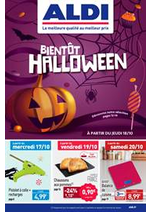Prospectus Aldi : Bientôt Halloween