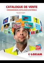 Prospectus Loxam : Catalogue de Vente Consommables, Outillages & Matériels