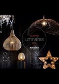 Prospectus Maisons du monde Arcueil : Collection Luminaires 2018
