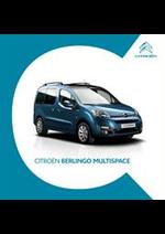 Prospectus Citroen : Citroën Berlingo Multispace