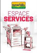 Prospectus Bureau Vallée : Espace Services