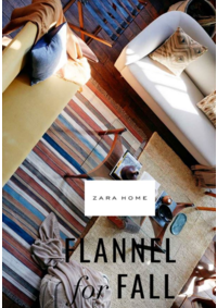 Catalogues et collections ZARA HOME BRUXELLES : Flannel for fall