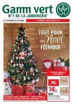 Prospectus Gamm vert : Tout pour un Noël féerique