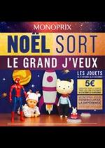 Prospectus Monoprix : Noël Sort  Le grand J'veux