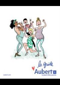 Prospectus Aubert PARIS 16 Avenue de la Porte des Lilas : Le guide Aubert