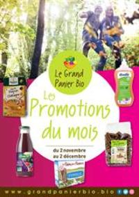 Prospectus Le Grand Panier Bio MAREUIL LES MEAUX : Les promotions du mois