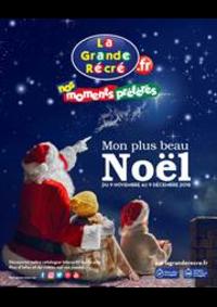 Prospectus La grande Récré BOURGES : Mon plus beau Noël