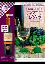 Promos et remises  : Prix Ronds sur les vins