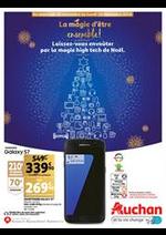 Prospectus Auchan : Laissez-vous envoûter par la magie high tech de Noël