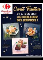 Prospectus Carrefour Market : Carte traiteur