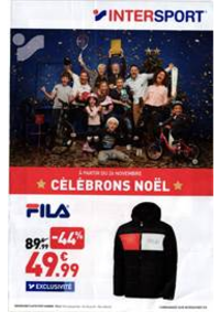 Prospectus Intersport : Célébrons Noël